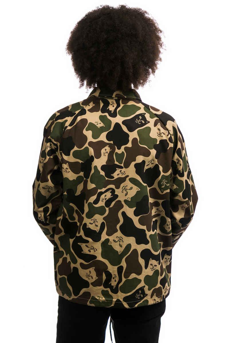 RIPNDIP Nerm Twill Jacket (army camo)