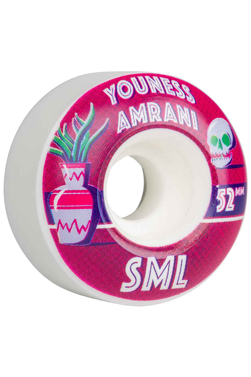 sml. Wheels Amrani Donta Series OG Wide Ruote 52mm 99A pacco da 4
