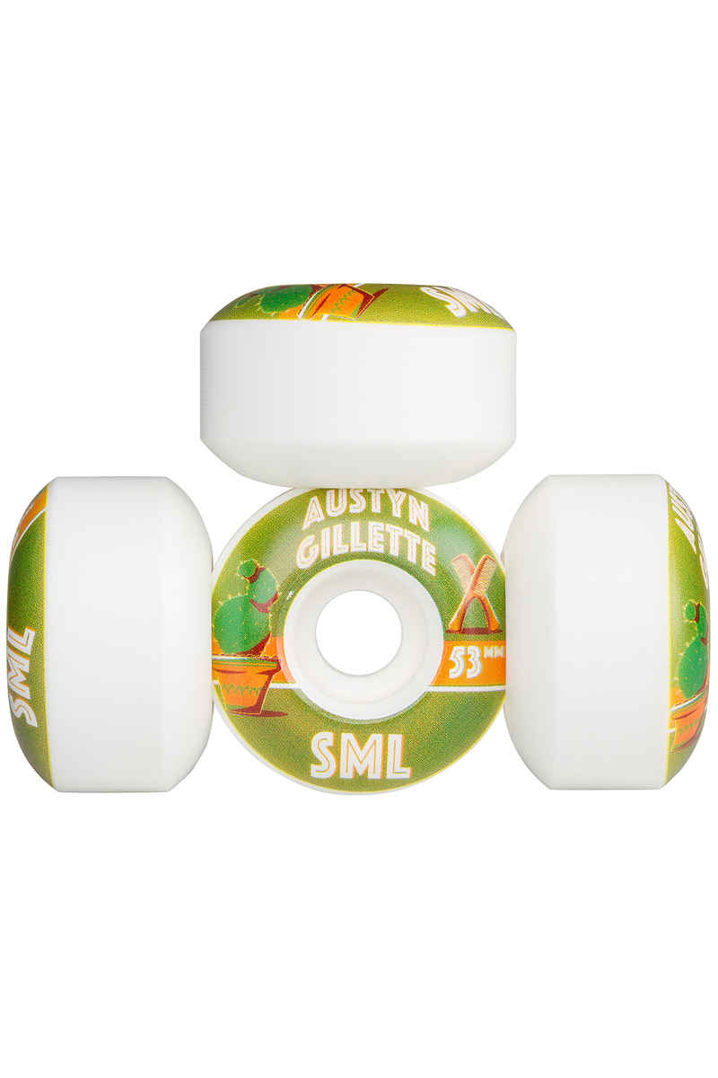 sml. Wheels Gillette Donta Series OG Wide Rollen 53mm 99A 4er Pack