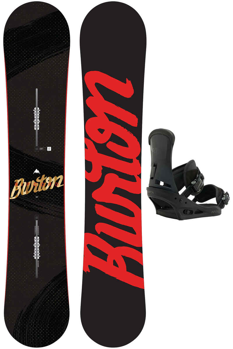 Burton Ripcord 157cm / Infidel L Snowboardset 2016/17
