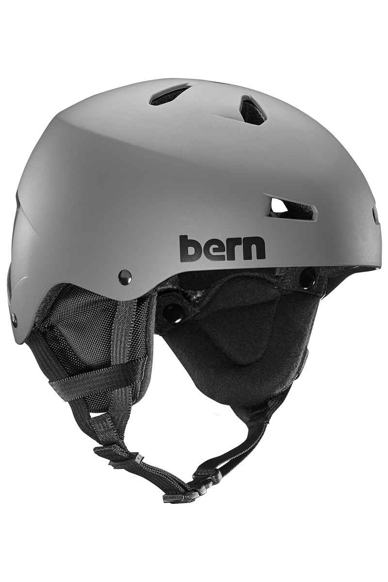 Bern Team Macon Snow-Helm (matte grey)