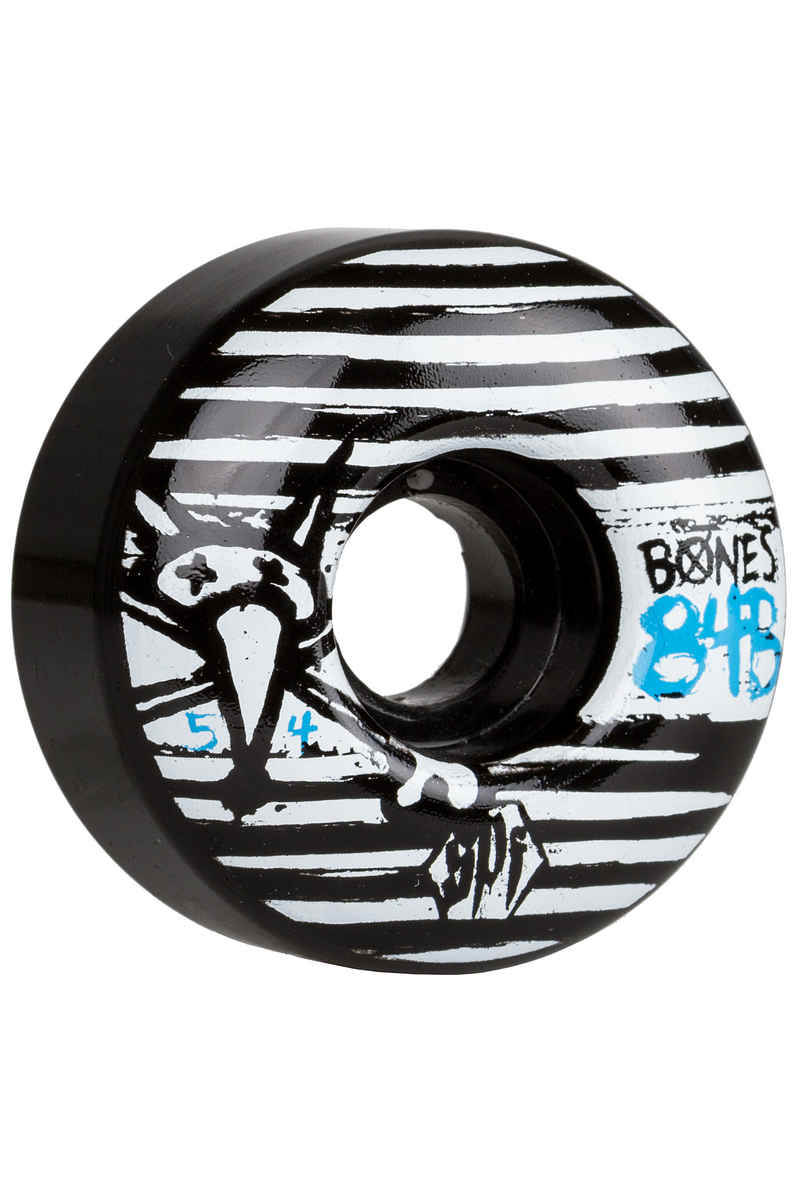 Bones SPF Strokes Wheels (black) 54mm 104A 4 Pack