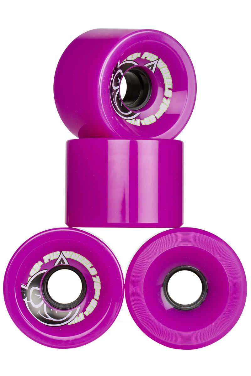 Pig Voyager 70mm Wheels (purple) 83A 4 Pack 70mm