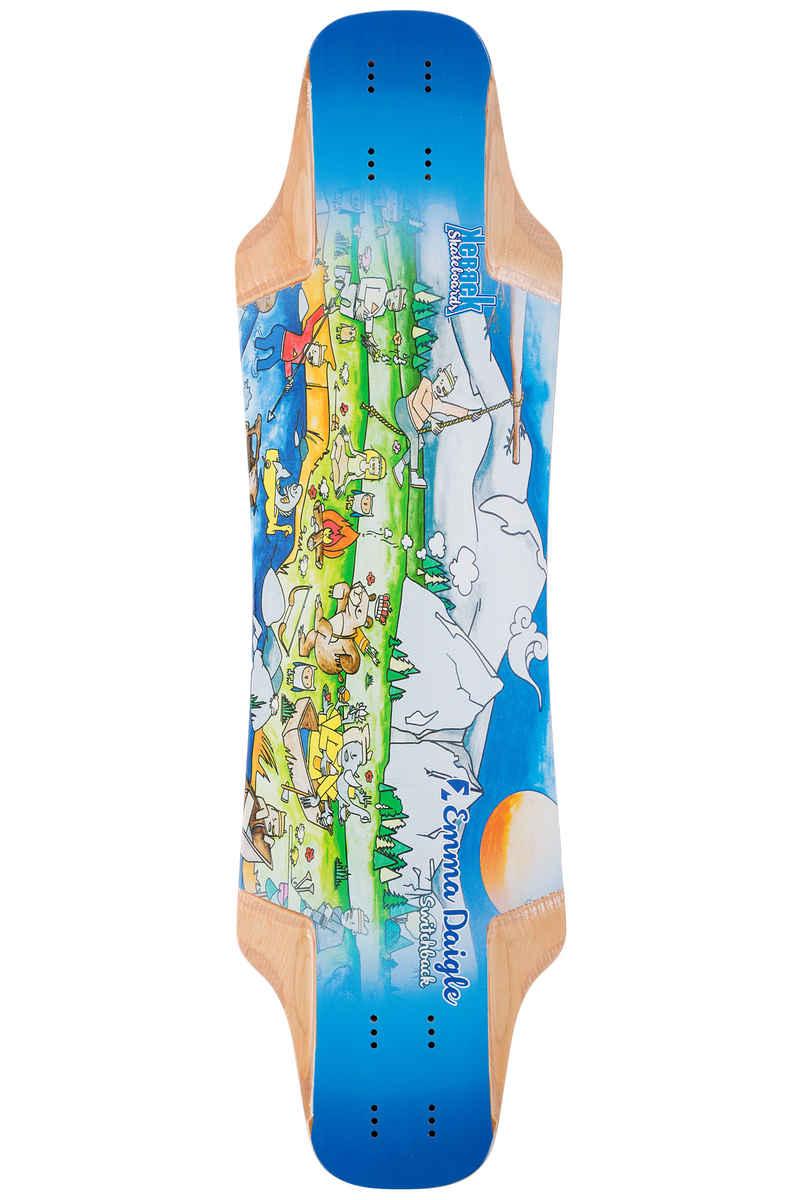 """Kebbek Emma Daigle Switchback 33.5"""" (85,1cm) Longboard Deck Outdoor Series"""
