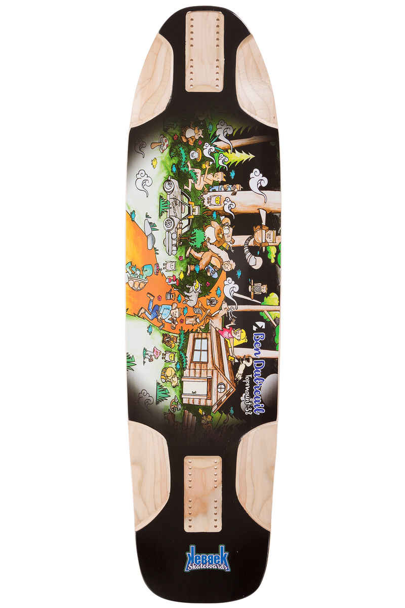 """Kebbek Ben Dubreuil TopMount 38"""" (96,7cm) Longboard Deck Outdoor Series"""