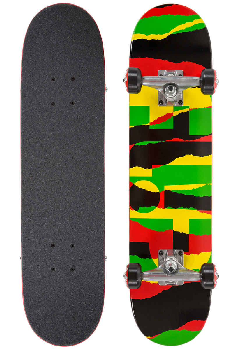 "Flip Team Odyssey Torn 7"" Tabla-completa kids (rasta)"