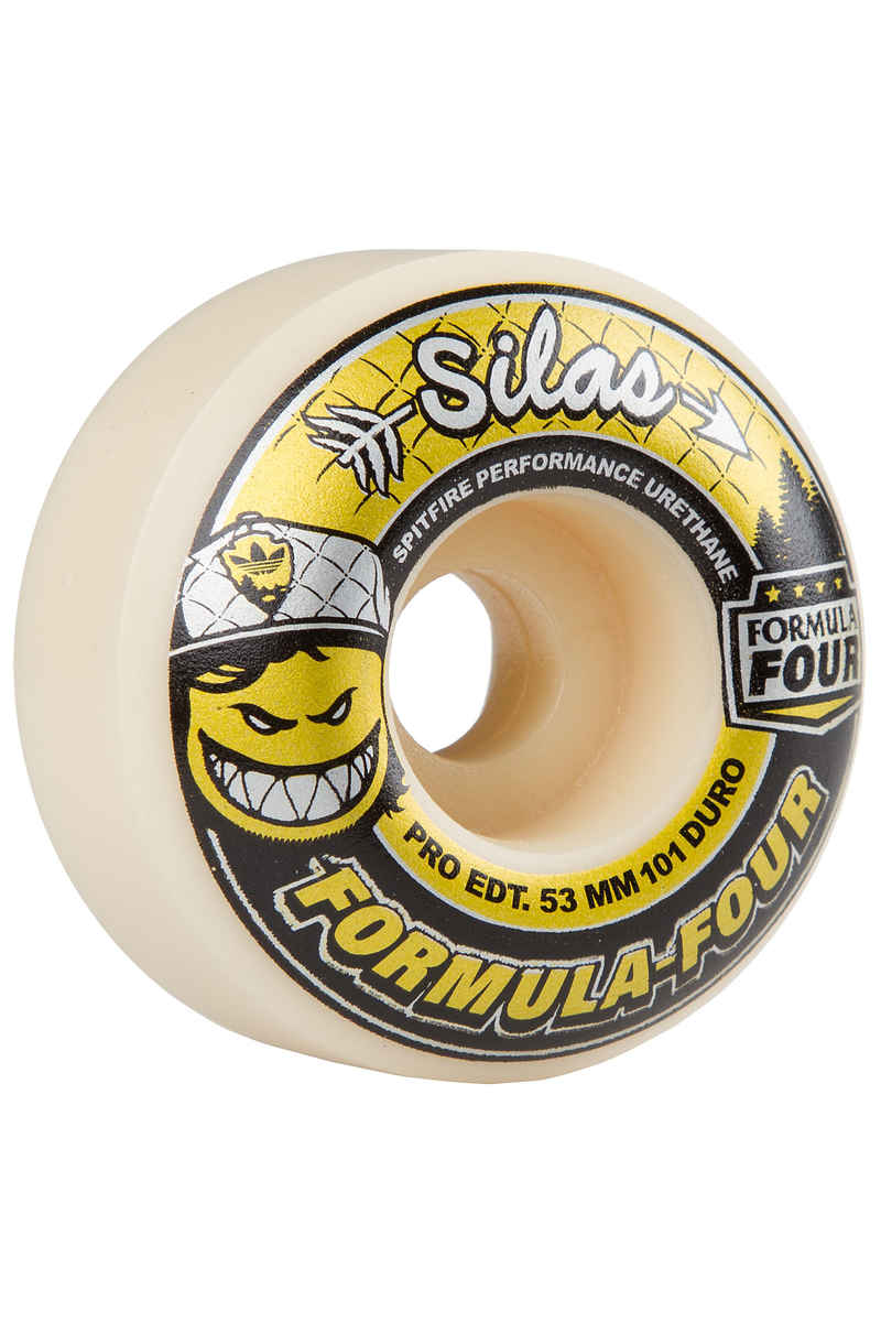 Spitfire Silas Ltd. Edition Formula Four 53mm Rueda Pack de 4