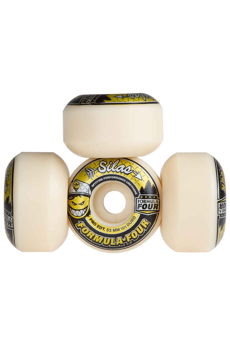 Spitfire Silas Ltd. Edition Formula Four 53mm Wiel 4 Pack