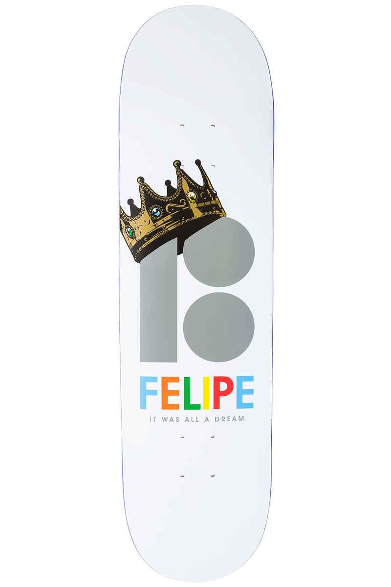 "Plan B Gustavo Royalty BLK ICE 8.25"" Deck (white)"