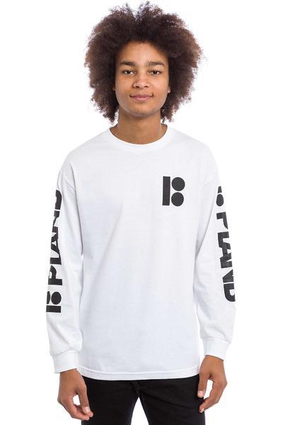 Plan B Repeat Camiseta de manga larga (white)