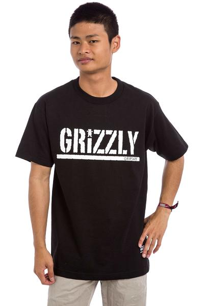 Grizzly OG Stamp Logo T-Shirt (black)