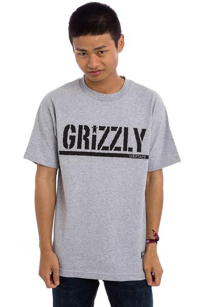 Grizzly OG Stamp Logo T-Shirt (heather grey)