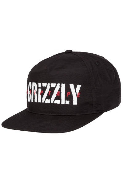 Grizzly Highs And Lows Snapback Cap (black)