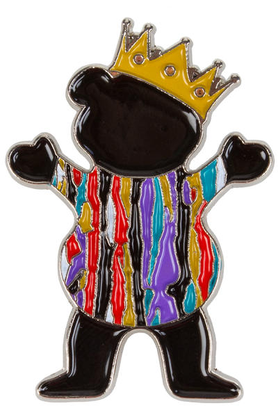 Grizzly Biggie Bear Pin Acc.