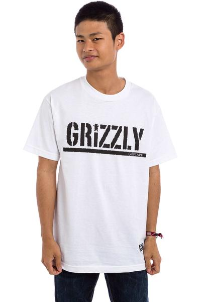 Grizzly OG Stamp Logo T-Shirt (white)