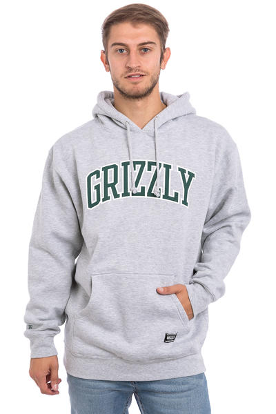 Grizzly Top Team Hoodie (heather grey)