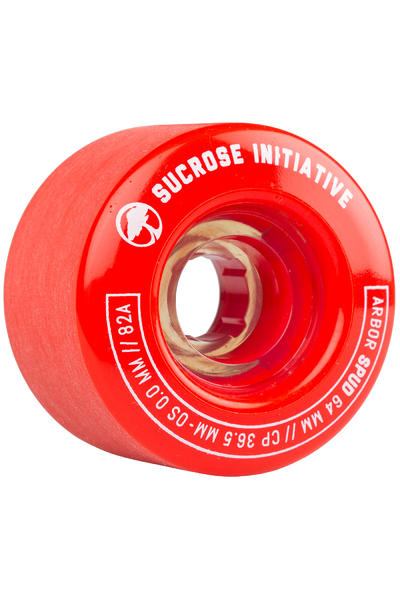 Arbor Spud 64mm 82A Rollen (red) 4er Pack