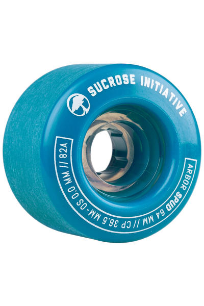 Arbor Spud 64mm 82A Rollen (blue) 4er Pack