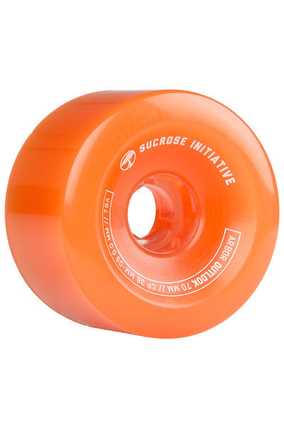 Arbor Outlook 70mm 78A Rollen (ghost orange) 4er Pack