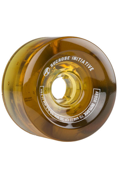 Arbor Outlook 70mm 78A Wheel (amber) 4 Pack