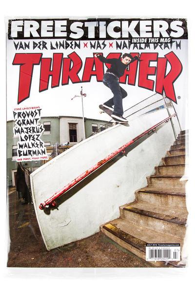 Thrasher Juli 2016 Magazin