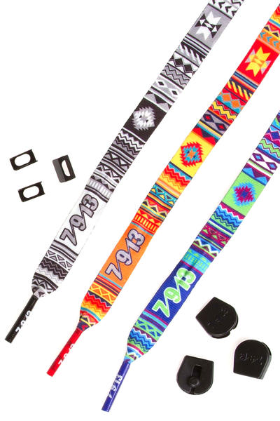 Sevennine13 Eldgos Lace Belt (multi) 3 Pack
