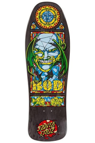 "Santa Cruz Boyle Stained Glass Reissue 10"" Deck (black stain)"