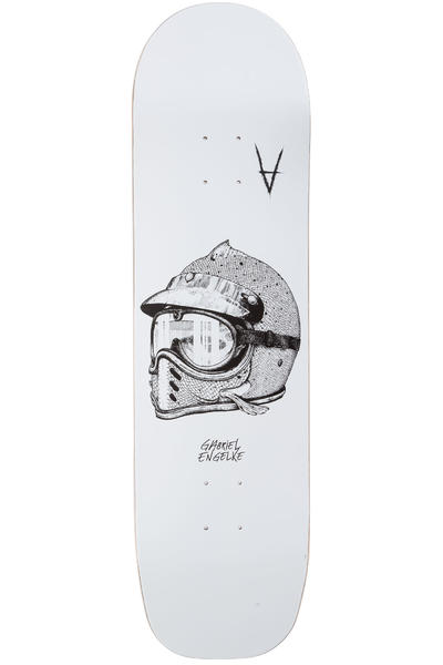 "Antiz Skateboards Engelke Helmut 8.625"" Deck (white)"