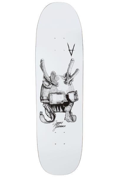 """Antiz Skateboards Karvonen Helmut 8.75"""" Planche Skate (white)"""