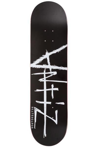 "Antiz Skateboards Script Logo 8"" Deck (black)"