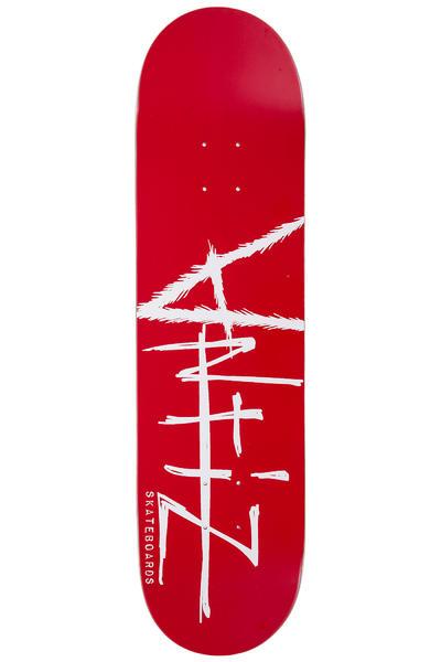 "Antiz Skateboards Script Logo 8.25"" Deck (red)"