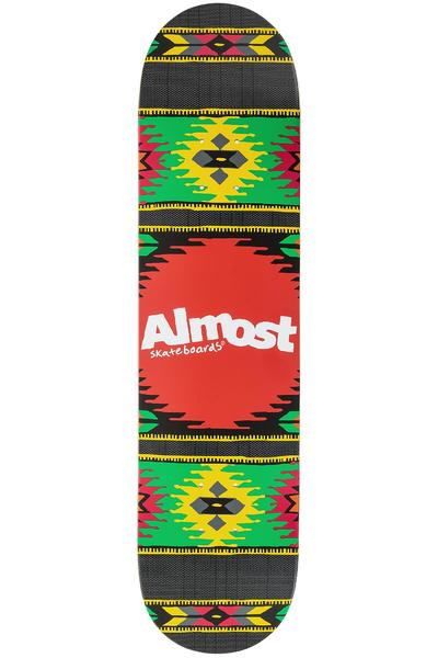 "Almost Aztek 7.75"" Deck (rasta)"