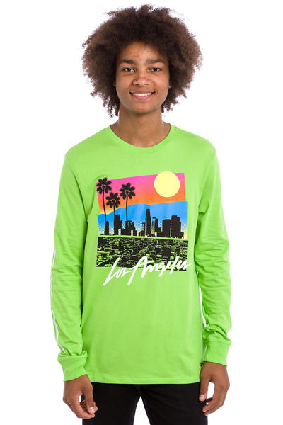 Nike SB x Skate Mental Los Angeles Longsleeve (action green)