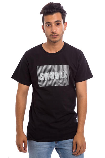 SK8DLX Stripe T-Shirt (black)