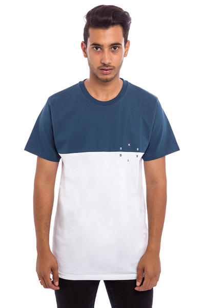 SK8DLX Switch Camiseta (navy white)