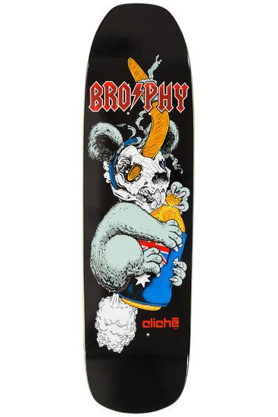 """Cliché Brophy Koala 8.5"""" Deck (black)"""