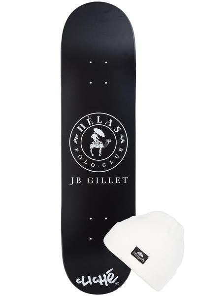 """Cliché x Helas Gillet #2 8"""" Deck (black)"""