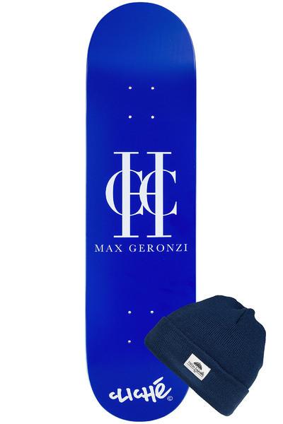 "Cliché x Helas Geronzi #2 8.125"" Deck (blue)"