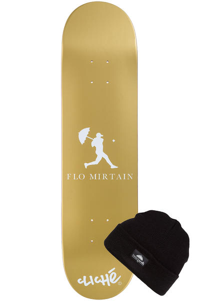 """Cliché x Helas Mirtain #2 8"""" Deck (gold)"""