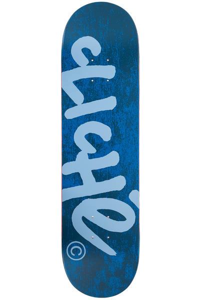 """Cliché Handwritten Classic 8.25"""" Deck (navy light blue)"""