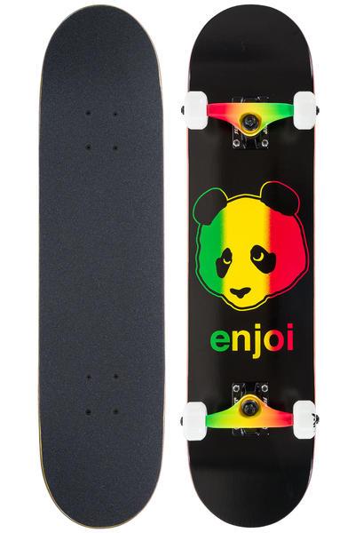 "Enjoi Rastafari Panda 7.5"" Board-Complète (black)"
