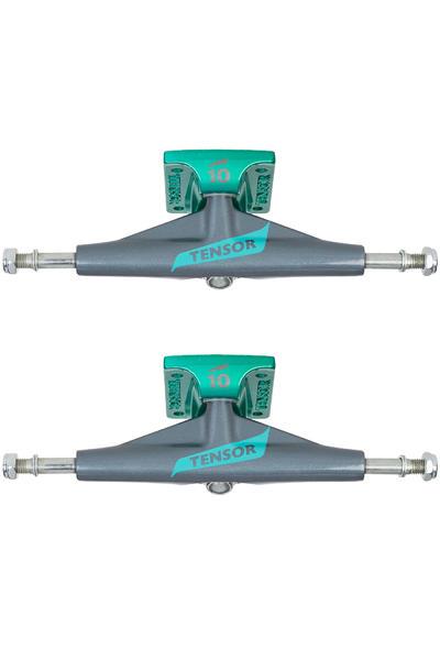"""Tensor Flick Aluminium TENs 5.5"""" Low Achse (gunmetal mint) 2er Pack"""