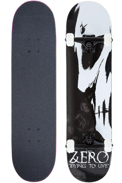 "Zero Dying To Live 7.75"" Komplettboard (black white)"