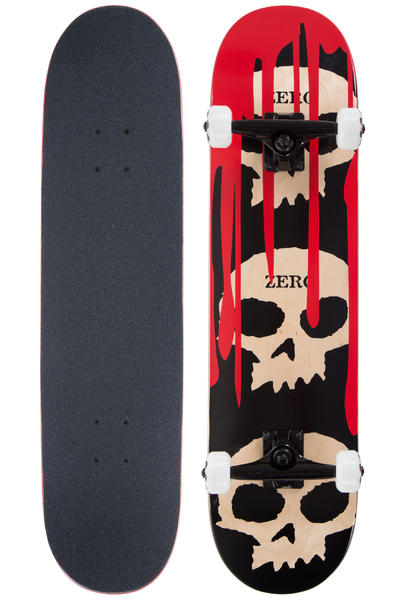 "Zero 3-Skull With Blood 7.875"" Complete-Board (multi)"