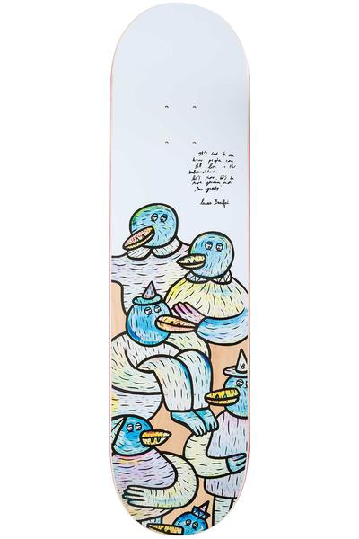 "Inpeddo Welcome Series Lucas Beaufort 8.25"" Deck (white)"