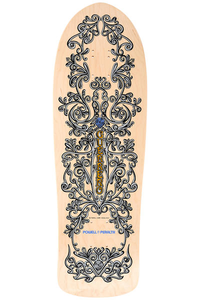 "Powell-Peralta Guerrero Iron Gate Reissue 9.85"" Deck (natural)"