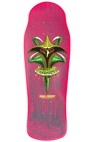 "Powell-Peralta Hawk Claw Reissue 10.45"" Deck (pink)"