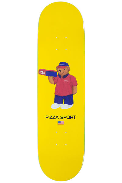 "PIZZA Bear 8.25"" Deck (yellow)"