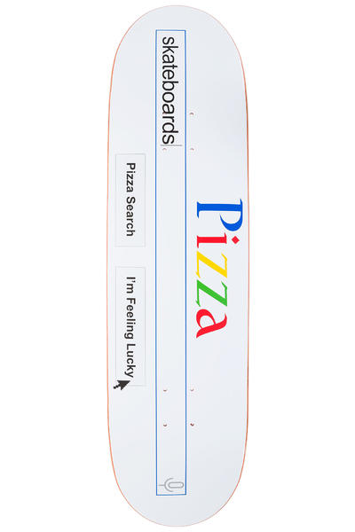 "PIZZA PZ Search 8.375"" Deck (white)"