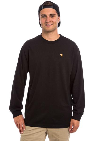 PIZZA Emoji Camiseta de manga larga (black)